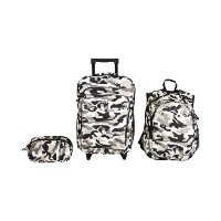 Obersee Little Kids Luggage Set, Camo by Obersee