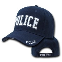 (警察官 キャップ) Police Officer adjustable baseball cap blue