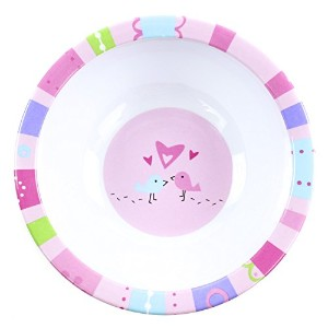 Bumkins Melamine Bowl, Girl by Bumkins