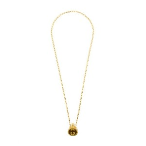 Gucci Vintage aroma bottle necklace - メタリック
