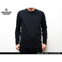"""Handcrafted in Canada"" REIGNING CHAMP LONG SLEEVE TEE BLACK レイニング チャンプ ロングスリーブ ティー ブラック"
