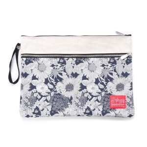 マンハッタンポーテージ Manhattan Portage LibertyArtFabricsCitiClutch (Ivory) レディース