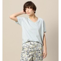 BY TRADITIONAL バイオVネックTシャツ【ビューティアンドユース ユナイテッドアローズ/BEAUTY&YOUTH UNITED ARROWS レディス Tシャツ・カットソー LIME...