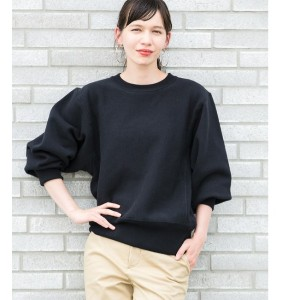 【Champion for ADAM ET ROPE'】11.5oz RW SWEAT SHIRT (WOMEN'S)【アダム エ ロペ/ADAM ET ROPE' レディス スウェット・ジャージ...