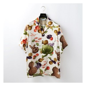 【NIPOALOHA】MENS SHORT SLEEVE ALOHA SHIRT VEGETABLES AND FRUITS【ギルドプライム/GUILD PRIME メンズ シャツ・ブラウス...