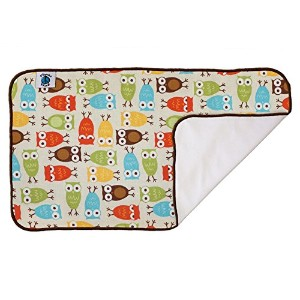 Planet Wise Designer Waterproof Diaper Pad, Owl by Planet Wise