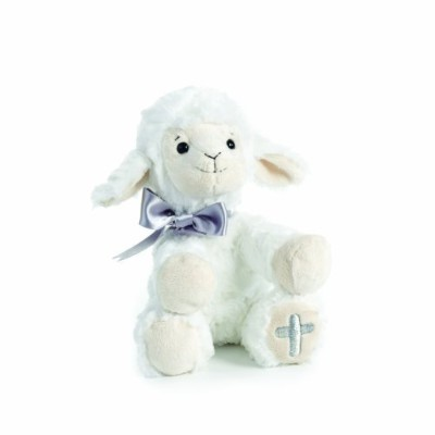 Nat and Jules Plush Toy, Lamb with Cross by Nat and Jules [並行輸入品]