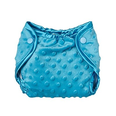 My Blankee Minky Dot Diaper Cover, Turquoise, 0-3 Months by My Blankee