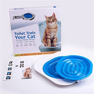 Liebeye トイレトレーニング 猫用 猫ちゃんのトイレ革命 キット キャット しつけ 練習 洋式 水洗 ペット