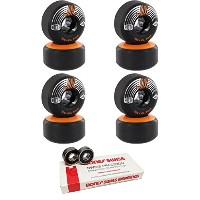 51 mm RictaホイールSlixスケートボードWheels with Bones Bearings – 8 mm Bones Swiss Skateboard Bearings –...