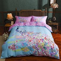 (001) - Kids Bedding Girls, Children's Cotton Duvet Cover Set, Bedding for Girls Boys, Full Size...