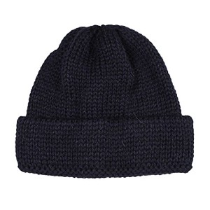 (ハイランド2000) HIGHLAND 2000 SB TUBULAR BOBBY CAP BRITISH WOOL -NAVY ONESIZE