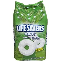 Life Savers Hard Candy, Wintogreen Mints , 50OZ (1.41Kg) ミントキャンディ