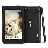 YUNTAB(JP)7インチタブレット T7 tablet pc 1.5GHz Quad-core Android 4.4 HD1024*600 google play/WIFI (黒)