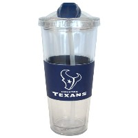 Houston Texans No Spillストロータンブラー