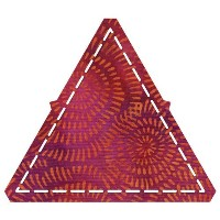 AccuQuilt GO! Equilateral Triangle 4.1/2 Sides (4.1/4 Finished) by AccuQuilt