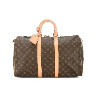 Louis Vuitton Pre-Owned Keepall 45 ボストンバッグ - ブラウン