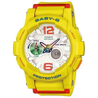 時計 Casio カシオ Baby-G G-lide Beach Fashion Series White Dial Ladies Watch BGA180-9B ウィメンズ レディース 女性用 ...