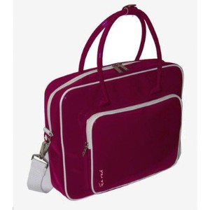 Ice Red Shine 2コンパクトGlossy Laptop Tote
