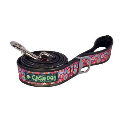 Cycle Dog Bottle Opener Recycled Pet Dog Leash Tie Dye Regular Soft on Hands 6'