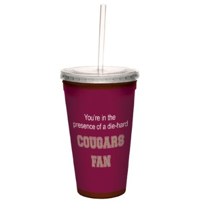 Tree-Free Greetings cc34664 Cougars College Basketball Artful Traveller Double-Walled Cool Cup with...