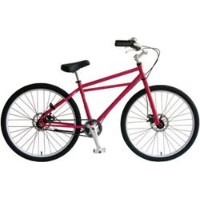 INZIST BICYCLE 26インチクルーザー SS ピンク