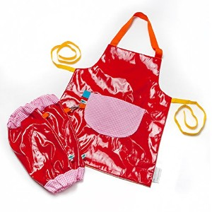 kiddimエプロンfor Children , Kidsエプロンfor Arts and Crafts – アートSmock and Kid Smocks forペイントand Baking ,...