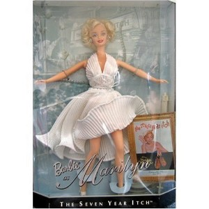 Barbie Collectibles 1997 バービーコレクトマリリンモンローフィギュア人形 The Seven Year Itch