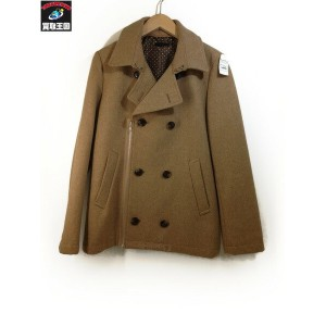 URBAN RESEARCH ROSSO ウールライダースコート Beige L【中古】