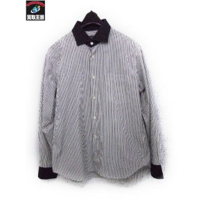 COMME des GARCONS HOMME PLUS ストライプシャツ サイズSSコムデギャルソン【中古】[値下]