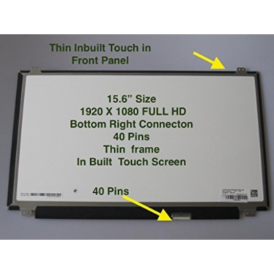 """LG Philips LP156WF7(SP)(A1) Replacement LAPTOP LCD Screen 15.6"""" FULL-HD LED DIODE"""