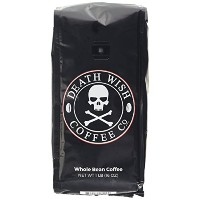 Death Wish Coffee, The World's Strongest Coffee, Whole Bean, Fair Trade, Organic, Shade Grown, 16...