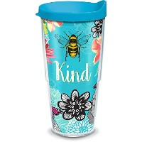 Tervis 24オンスBe Kind Tumbler with Lid 24オンスタンブラーブルー