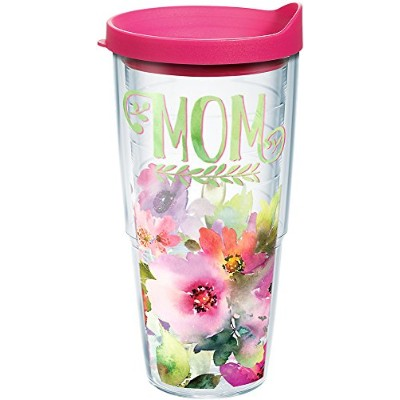 Tervis 1242901 Celebrate Life Tumbler with Wrap、24オンス、クリア