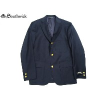 SOUTHWICK(サウスウィック)/#7287 HYBRID CAMBRIDGE SHORT NAVY BLAZER/made in U.S.A.