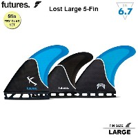 【FUTURES FIN】フューチャーフィンRTM HEX LARGE LOST 5FINSFUTURE FIN 送料無料 メイヘム LOSTフューチャーフィン5本セット