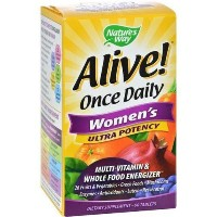 Alive Once Daily Women's Multi-Vitamin Ultra Potency - 60 Tablets by Nature's Way