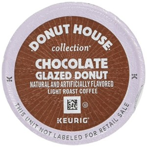 Donut House Collection Coffee, Chocolate Glazed Donut, K-Cup Portion Count for Keurig K-Cup Brewers...