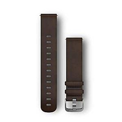 GARMIN(ガーミン) Quick Release バンド 20mm DarkBrown Leather 010-12691-11