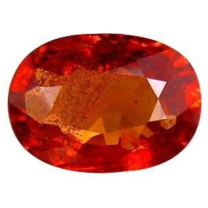 オレンジ色のサファイア ルーズジェームズ 1.06 ct PGTL CERTIFIED OVAL CUT (7 x 5 mm) CEYLON ORANGE SAPPHIRE