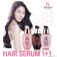 [Kerasys] Keramide ヘアセラム70ml 1 + 1 / Argan oil/Hair care/エッセンス/Hair Oil/Damage Clinic/Night