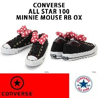 CONVERSE コンバース ALL STAR 100 MINNIE MOUSE RB OX オールスター 100 ミニーマウス RB OX レディースサイズ 正規品