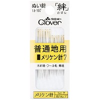 Clover 絆 きずな メリケン針7 Y7 12本入り 18-107
