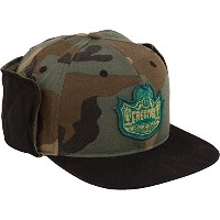 Creature Skateboards Bobber Camo /ブラックFitted Hunting帽子–S / M