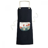 Cat Trees Owl Slogan Protect Animal Pet Lover Cooking Kitchen Black Bib Aprons With Pocket for...