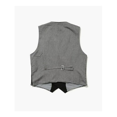 【SALE/75%OFF】ITINERIS 1/2 BREASTED VEST ナノユニバース カットソー【RBA_S】【RBA_E】【送料無料】