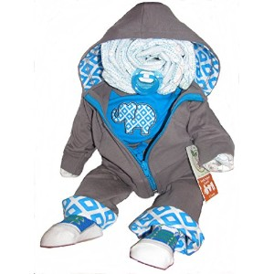 Create-A-Gift Playtime Diaper Darling, Turquoise/Grey by Create-A-Gift