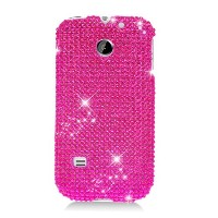 Eagle Cell PDHWM865F04 RingBling Brilliant Diamond Case for Huawei M865/Ascend 2/Prism - Retail...