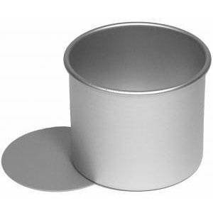"""Alan Silverwood Pork Pie Tin / Mould 4"""" Anodised With Loose Bottom"""