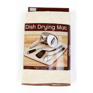 Kitchen Basics Dish Drying Mat, 16-inch x 18-inch, by Kitchen Basics